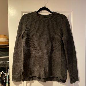 J. Crew Gray Wool Sweater